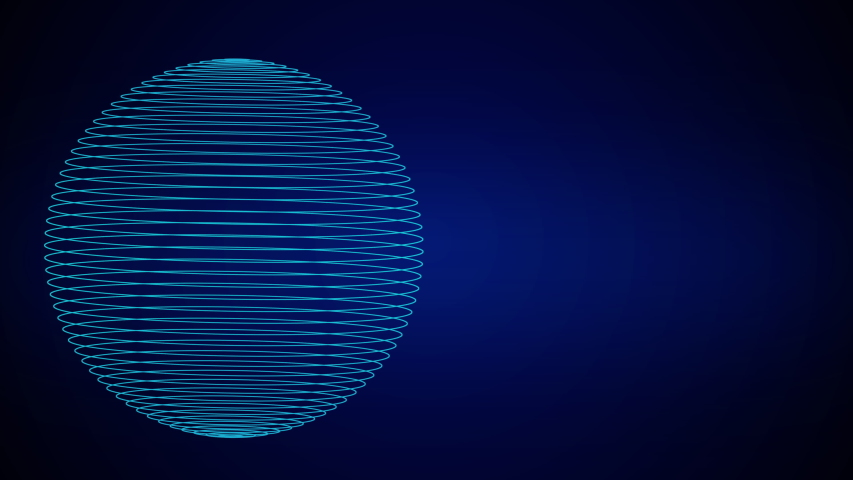 Motion loop intro copy space for digital innovation technology future fintech business abstract concept in international world global communication network blockchain decentralize linkage transaction | Shutterstock HD Video #1038867899