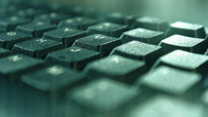 Standard keyboard, internet online learn concept 4k   Shutterstock HD Video #1038954926