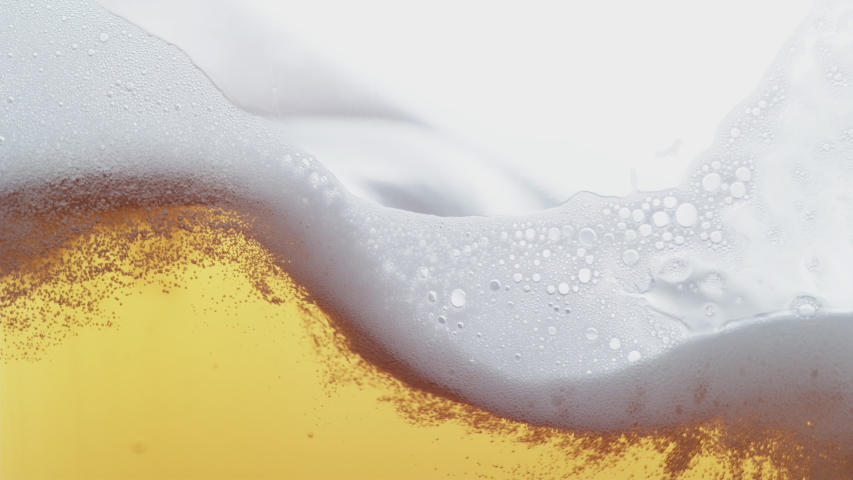 Beer pouring and splashing in super slow motion. Shot on Phantom Flex 4K high speed camera.