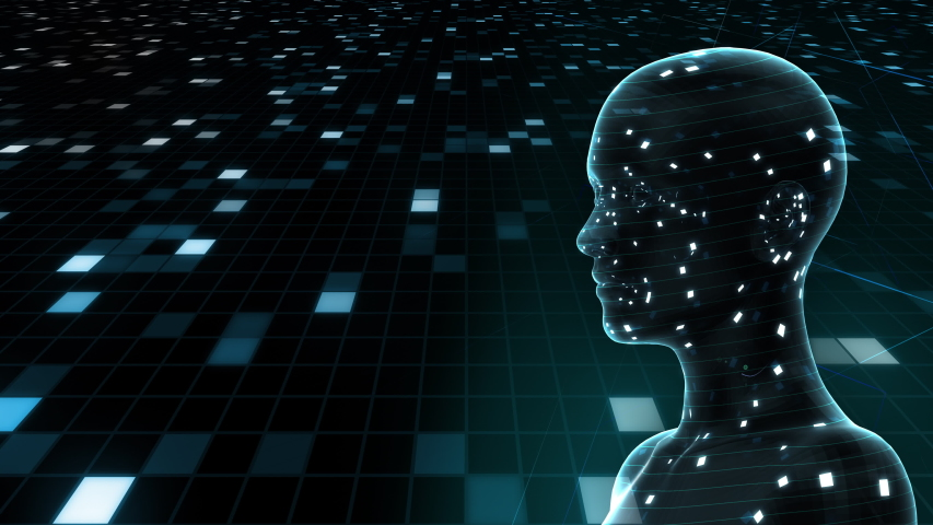 AI, artificial intelligence digital network technologies concepts Background. | Shutterstock HD Video #1039258709