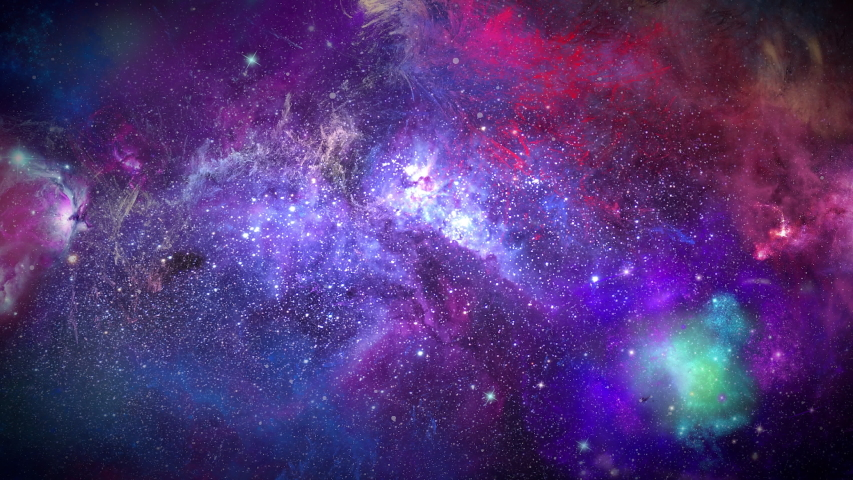 Flying In Orion Nebula 4K is motion footage for scientific films and cinematic in space. Also good background for scene and titles, logos., Loop animation | Shutterstock HD Video #1039395644