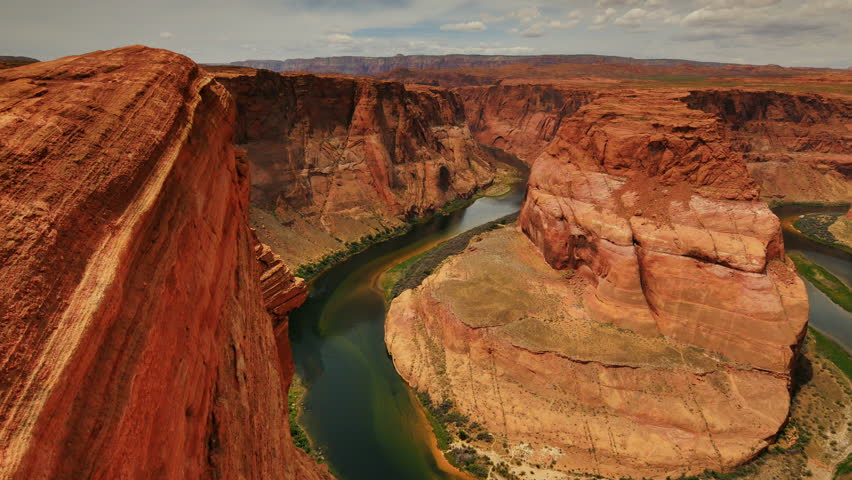 Horseshoe Bend Dolly 05 Colorado River   Shutterstock HD Video #10394012