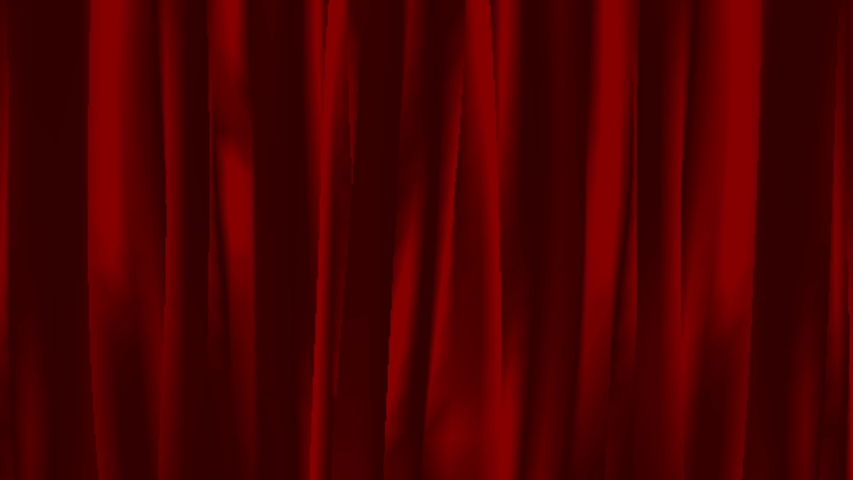 Animation Red curtain on black background. | Shutterstock HD Video #1039510520