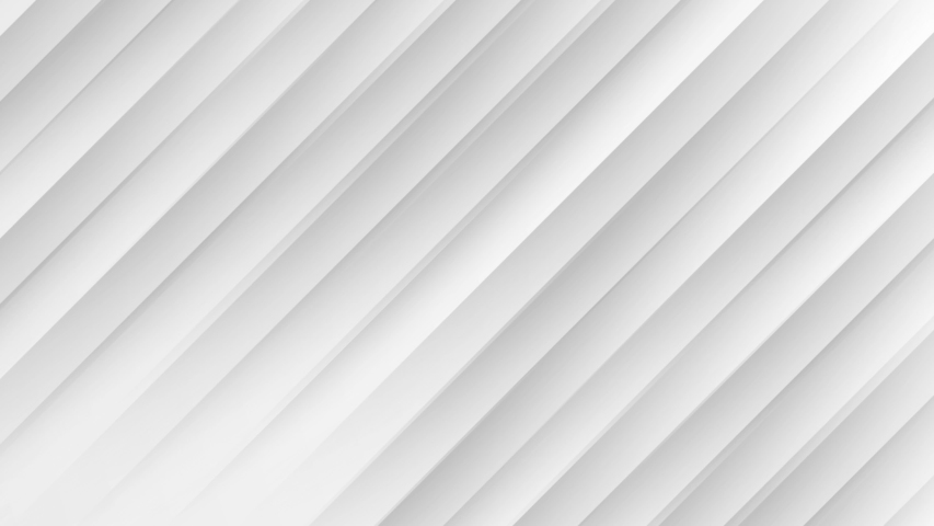 Abstract deep white gray color animated seamless looped background. Modern striped technology BG. Texture with diagonal lines. 3d minimal moving light wall. Geometric metal web design cover template | Shutterstock HD Video #1039563569