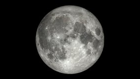 Moon Phases - Northern Hemisphere time-lapse video. Extremely detailed including libration, position angle, and smooth exposure adjustment to reveal Earthshine.