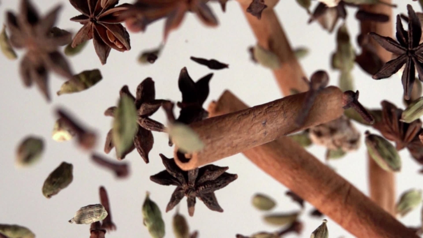 Spices Flying and Falling Slow Motion | Shutterstock HD Video #1039723562