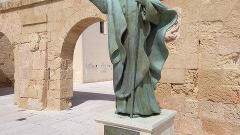 Sanctuary San Maria de Finibus Terrae, Santa Maria di Leuca, Province of Lecce, Salento peninsula, Puglia, Italy, june 2019
