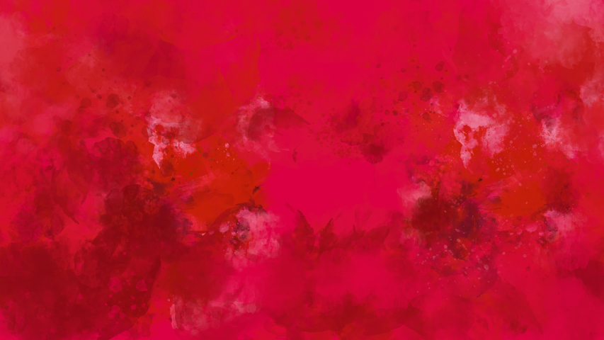 Red watercolor background appears on the alpha channel. | Shutterstock HD Video #1039824170