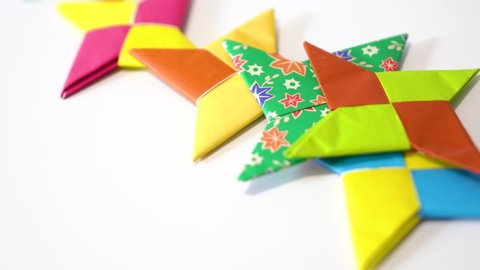 How to Fold an Origami Star (Shuriken) (with Pictures) - wikiHow | 270x480