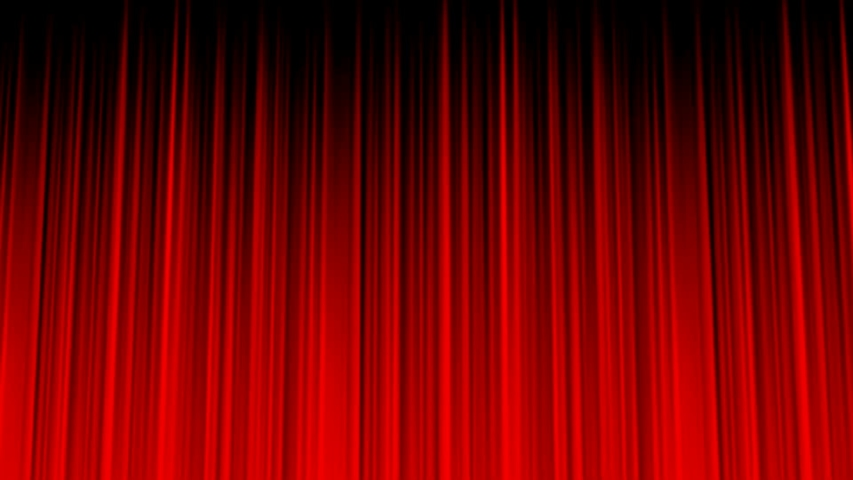Stage Curtain Blue Screen Clean RED Royalty background. | Shutterstock HD Video #1040266265