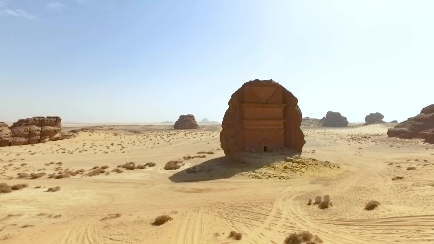Mada'in Saleh, also called Al-?ijr or , is an archaeological site located in the Sector of Al-`Ula within Al Madinah Region in the Hejaz, Saudi Arabia.
