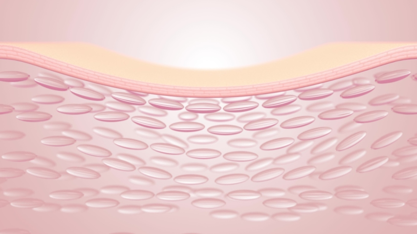 Deep whitening of micro-skin structure