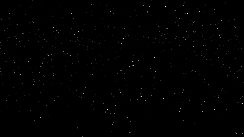 Snow in space on black background. | Shutterstock HD Video #1040429837