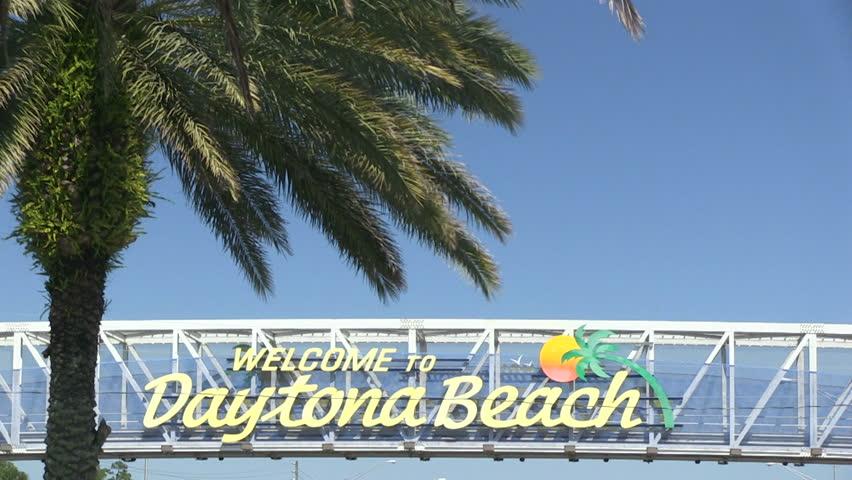 Daytona Beach Florida April Stock