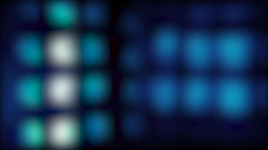 Colored, blurry, abstract, moving spots of light on the background | Shutterstock HD Video #1040620058