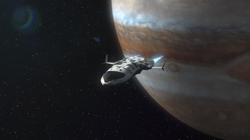 Jüpiter'e Uzay Aracı Girerse…