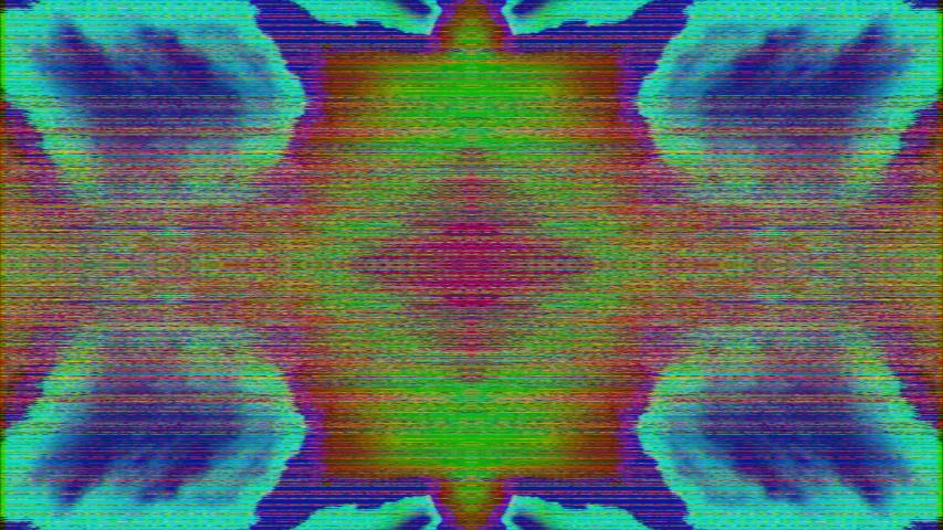 Surreal multicolored vivid shining texture, fantastic kaleidoscope. Loop video.   Shutterstock HD Video #1040715698