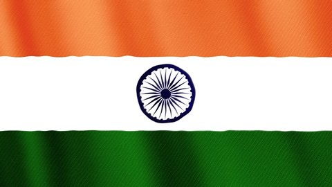 Full Hd India Flag Stock Video Footage 4k And Hd Video Clips Shutterstock