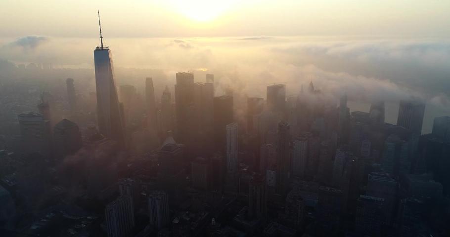 New York City Drone 4k | Shutterstock HD Video #1040794451