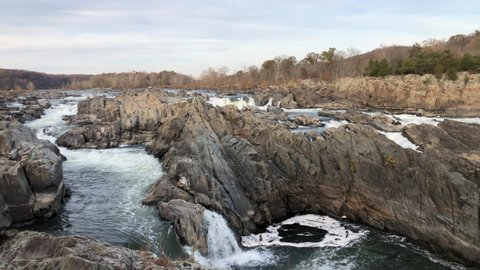 a beautiful view of Great Falls, Virginia USA