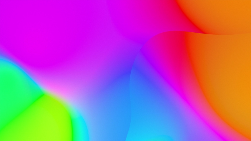 Abstract Fluid Gradient Wavy Prism. Seamlessly looping animated background.   Shutterstock HD Video #1040924099