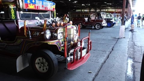 Philippine Jeepney Stock Video Footage 4k And Hd Video Clips