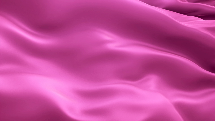 Deep pink background flag video waving in wind. Realistic Hot Pink background. Deep pink Flag Looping 1080p Full HD 1920X1080 footage. Deep pink color sign of love,sweet, nice, cute, romantic, girls  | Shutterstock HD Video #1040987765
