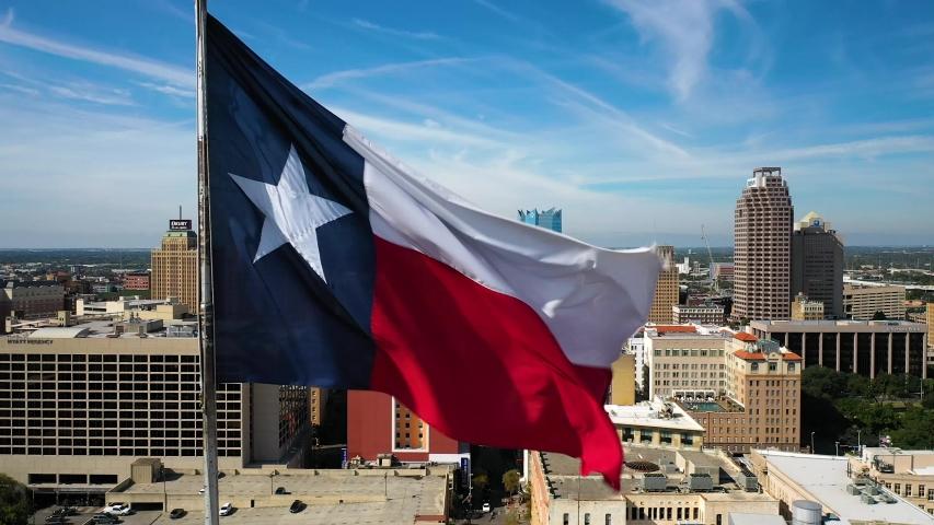4K San Antonio Texas Fla San Antonio Skyline Drone Reverse Reveal