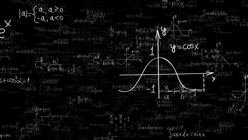 Math formulas background - loop   Shutterstock HD Video #1041234898