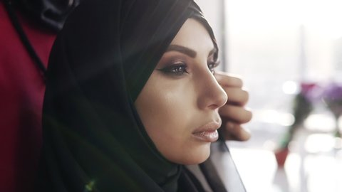 Arabic Girl Side View Stock Video Footage 4k And Hd Video Clips