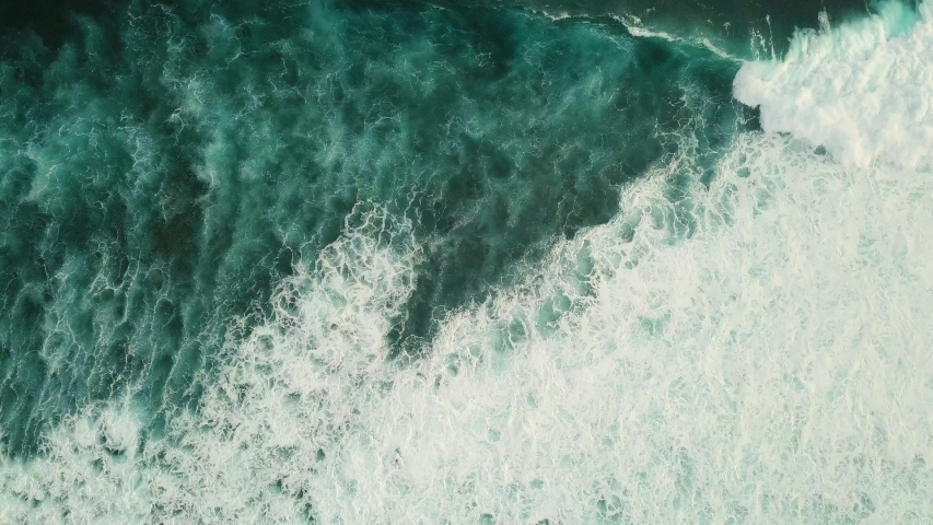 Giant Waves rolling from above. | Shutterstock HD Video #1041274831