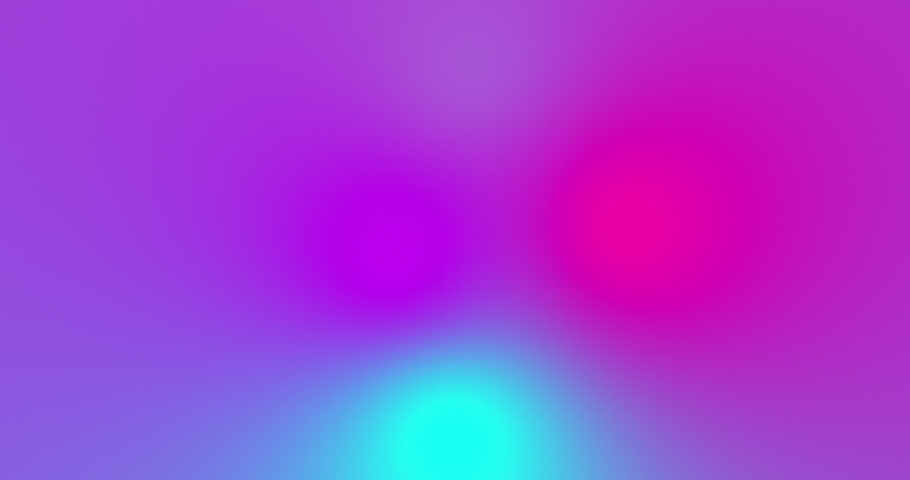 Blurred multicolored bright lights on gradient background. Soft gradient bacground with four color crossing together. Fluid liquid colored smooth animation. Minimal futuristic background in neon color | Shutterstock HD Video #1041395977