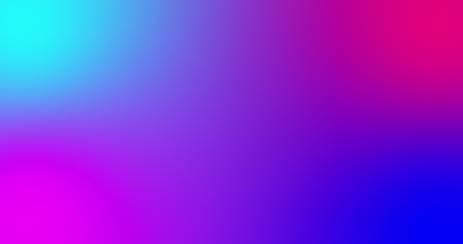 Blurred multicolored bright lights on gradient background. Soft gradient background with four color crossing together. Fluid colored smooth animation. Minimal futuristic background in neon color | Shutterstock HD Video #1041395989