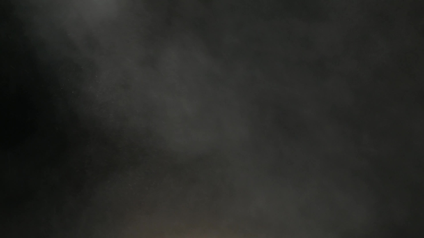 White talcum powder explosion on black background. Smoke background.   Shutterstock HD Video #1041465565