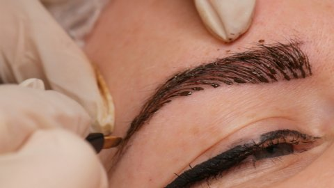 Microblading Eyebrow Tattoo Permanent