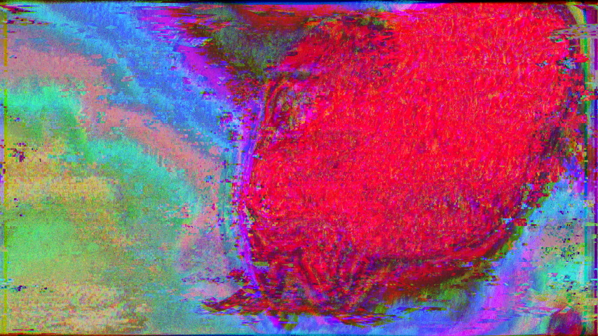 Data mosh, glitch texture, sci-fi artistic light metamorphoses. Trendy saturated glare, overlay, light mixture, 4k prores. | Shutterstock HD Video #1041634759