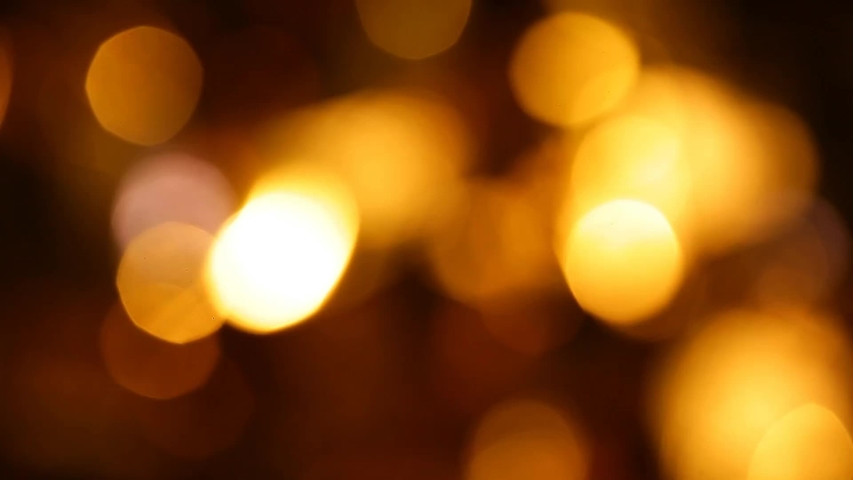 Gold ball bokeh dark background | Shutterstock HD Video #1041635407