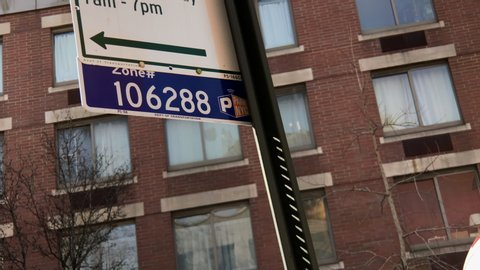 New York , New York / United States - 03 15 2019: New York City issues over 500 million dollars in parking violations annually.