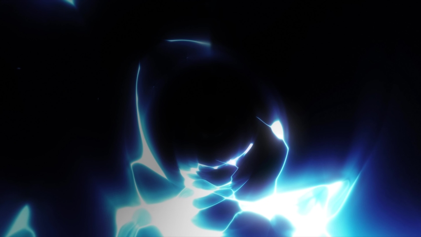 Awesome Action Electricity Energy Flash Fx/ 4k animation of power dynamic comic and manga flash fx with electric patterns and paralysing rays seamless looping