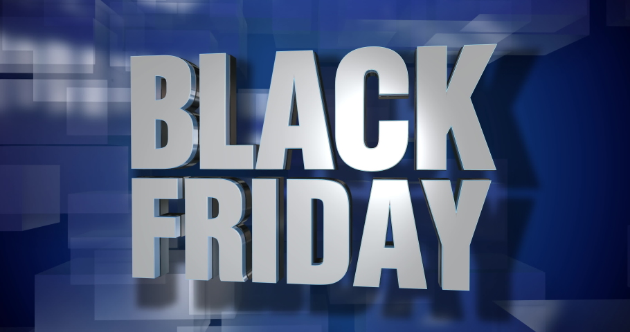 A blue dynamic 3D Cyber Monday news transition and title page animation. 5 and 2 second options included. Green screen.   | Shutterstock HD Video #1041960946