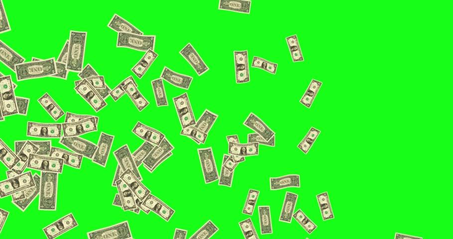 Green screen flying bills wind dollar floating 3d animation green screen wind bills flying dollar flying 3d floating green screen floating bills floating dollar wind 3d wind green screen animation  | Shutterstock HD Video #1041968884
