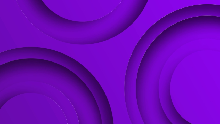 4k Abstract creative purple background with circles animated on the surface . Future geometric patterns motion background. Colorful gradient animation Royalty-Free Stock Footage #1042000318
