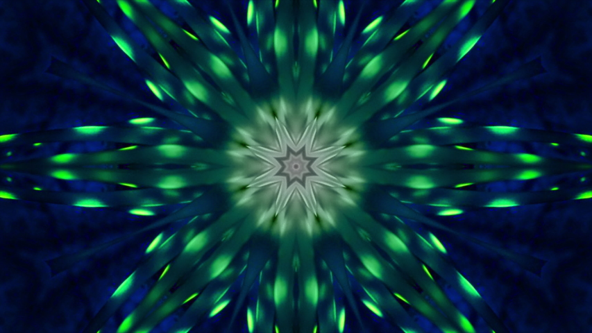 Motion graphic: Abstract kaleidoscope motion background. | Shutterstock HD Video #1042185460
