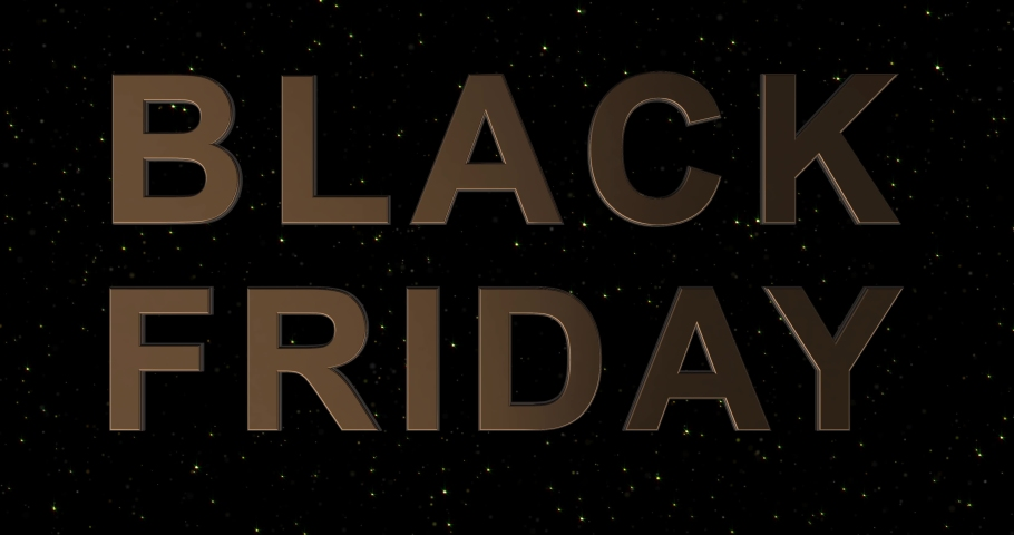 Black Friday advertisement with golden sign and black and white balloons, background 4k animation seamless loop   Shutterstock HD Video #1042234978