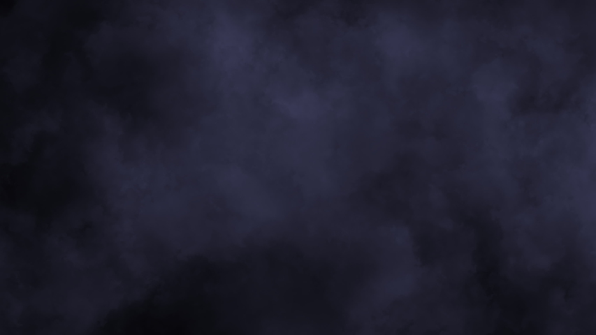 This motion graphics video shows smoke moving slowly to the side. #1042265344