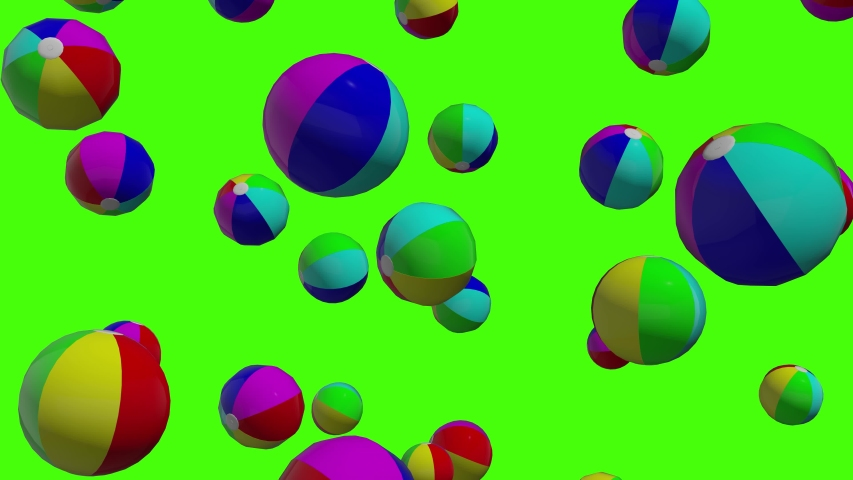 Green screen rainbow beach rainbow ball rainbow green screen inflatable beach inflatable ball green screen swimline beach swimline ball swimline green screen pool beach pool  falling 3d animation toy