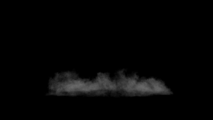 White smoke background . smoke, cloud , fog, explosion. Alpha channel for compositing on any background.  | Shutterstock HD Video #1042373290