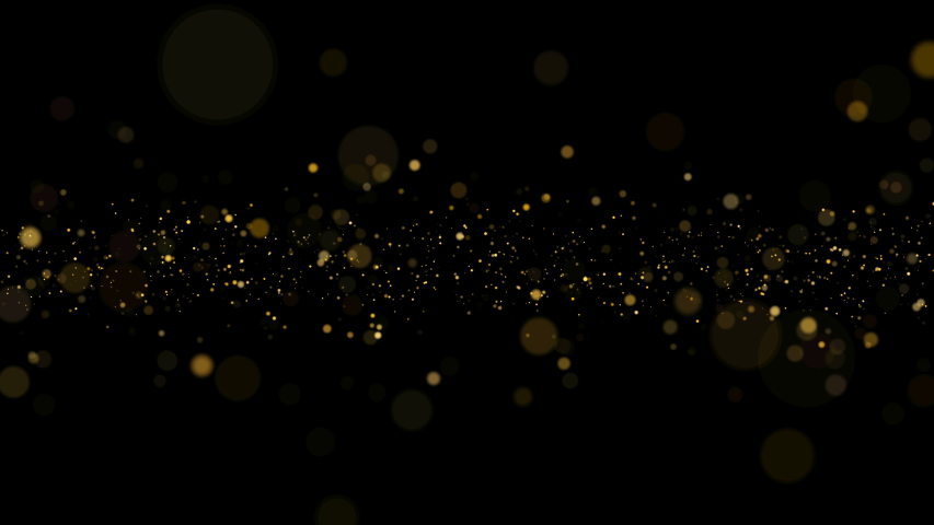 Abstract Dust Particles background. Bokeh and Glitter Background. Loop