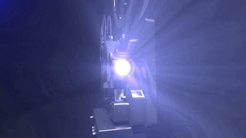 Video of 8mm vintage film projector | Shutterstock HD Video #1042574596