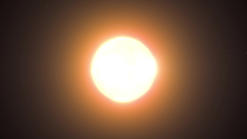 Total Solar Eclipse 3D animation   Shutterstock HD Video #1042634809